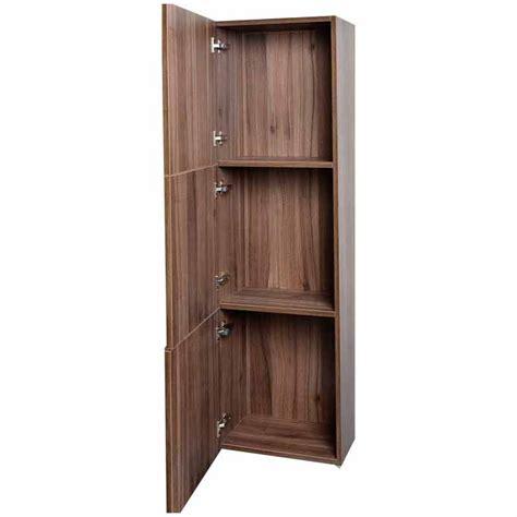 Vanity Medicine Cabinet Buy 18 Quot Walnut Linen Cabinet Tn T730 Sc Wn On Conceptbaths Com