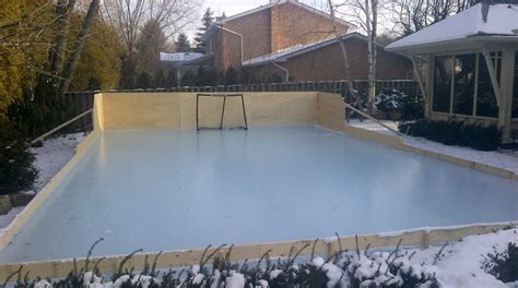 rink liners and backyard skating rink tarps how to install