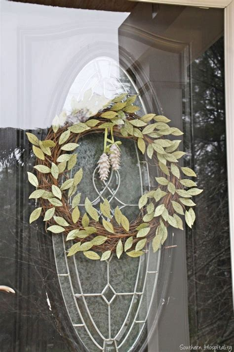 how to make a wreath for front door front door wreath holidays