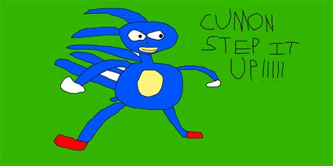 Sanic Meme - lets try 2 draw sanic hegehog by sharpclawpokemon on