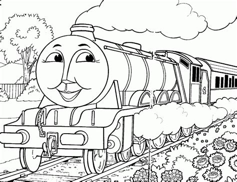 coloring pictures online to print fun learn free worksheets for kid thomas friends