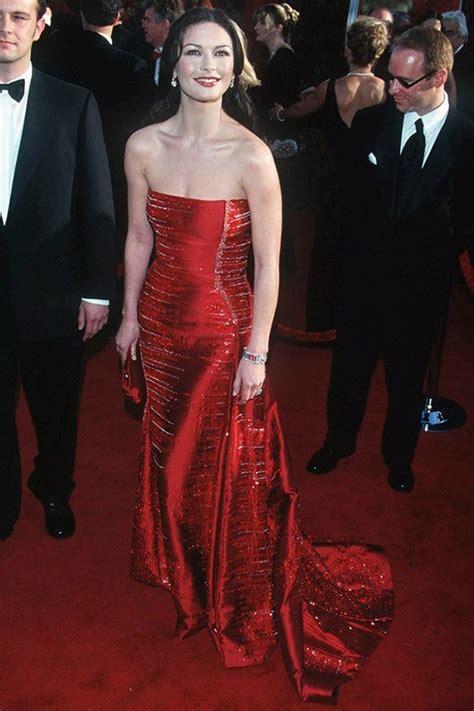 Catwalk To Carpet Catherine Zeta Jones by Catherine Zeta Jones In Versace Oscars 1999 The Best Of