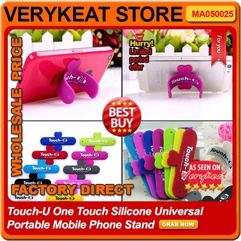 Touch U Silicone Stand Hp Stand Phone Stand touch u one touch silicone universal end 3 5 2018 11 04 am