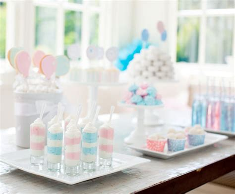 pottery barn baby shower the pink blue baby shower theme pottery barn