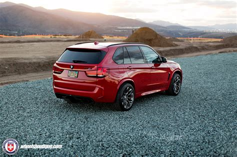 red bmw x5 classy melbourne red bmw x5 m with hre wheels