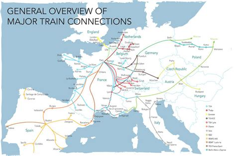 rail map of europe travelling by euroc co uk