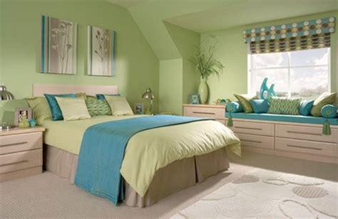 Bedroom Color Schemes Light Green Zielono Niebieska Sypialnia Na Domowe Inspiracje Zszywka Pl