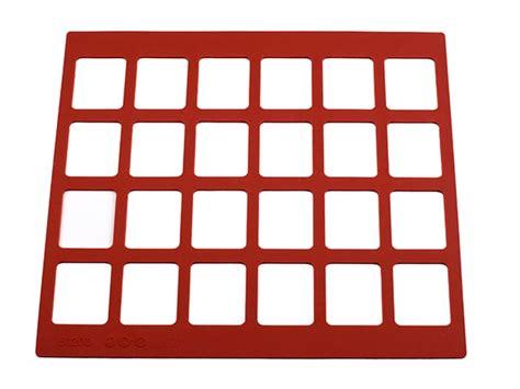 Silicone Stencil Mat by Silicone Chablon Stencil Mat 24 Rectangles