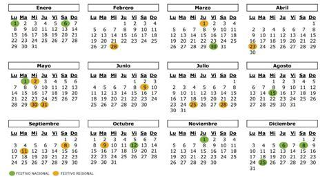 Calendario 2018 Laboral España Fiestas Calendario Laboral De 2018 10 Festivos Comunes
