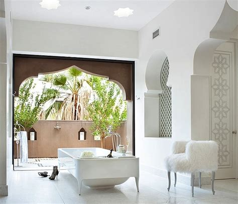 moroccan themed bathroom moroccan bathrooms with a modern flair ideas inspirations