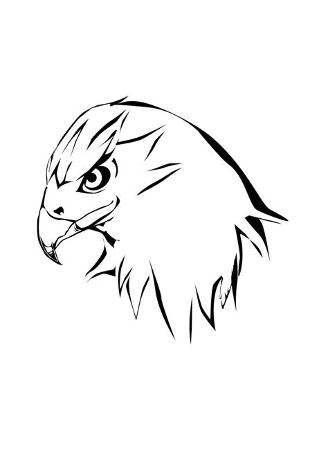 Black Hawk Outline by File Harris Hawk Clipart By Markus Svg Wikimedia Commons
