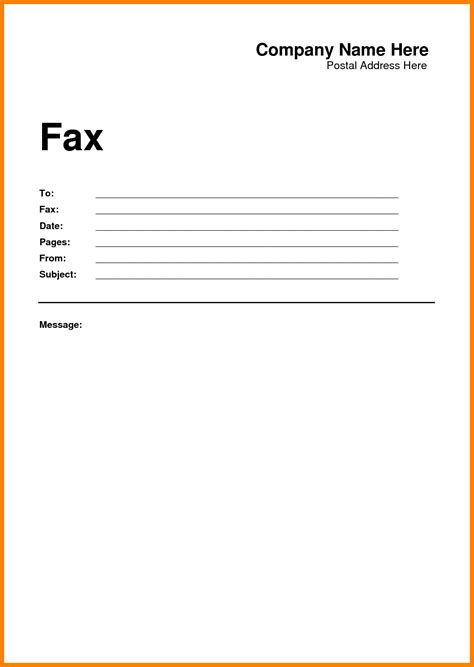 Cover Letter For Fax Free Fax Cover Sheet Template Printable Free Fax Cover Sheet Template