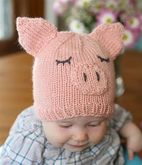 how to knit a baby hat this piggy went home baby hat allfreeknitting