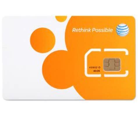 Sim Card Address Finder At T Standard Sim Card 3g 40952 At Tigerdirect