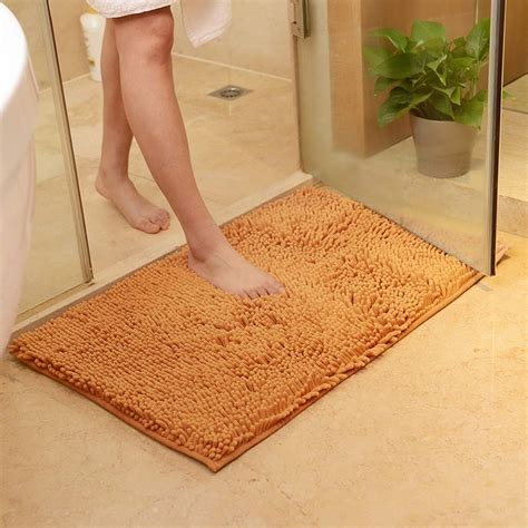 bathroom rugs non slip washable soft shaggy non slip absorbent bath mat bathroom