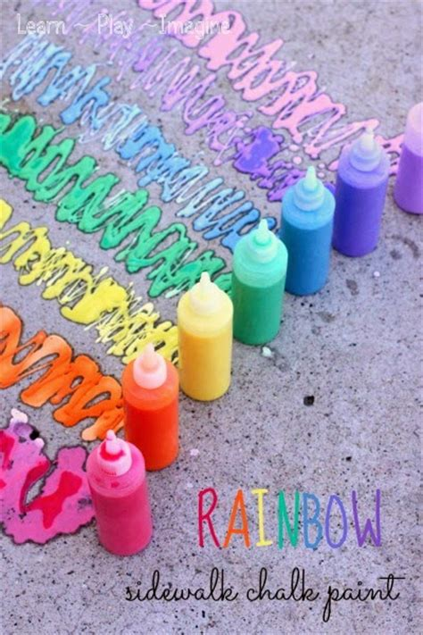 diy sidewalk chalk paint recipe 25 summer play recipes tgif 124
