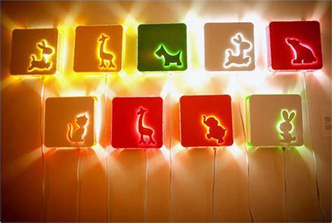 animal kids lamps
