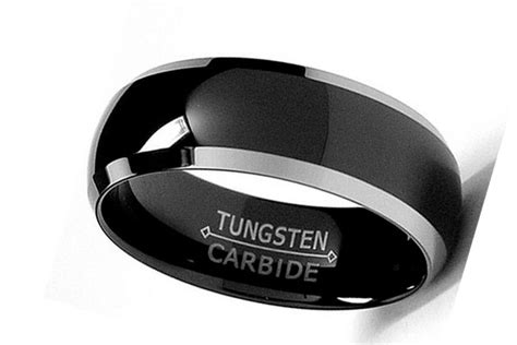 s black wedding ring with black diamonds