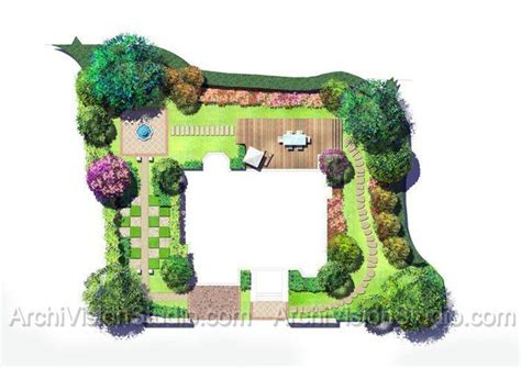 landscape floor plan garden design 52605 garden inspiration ideas