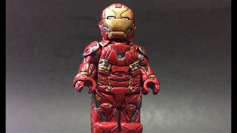 custom lego iron man mk civil war suit youtube