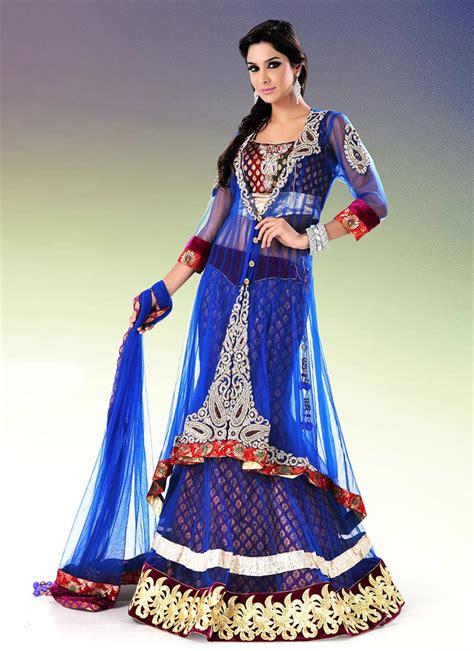 indian bridal wedding lehenga choli style sarees designs of sarees long choli for brides bridal long choli lehenga