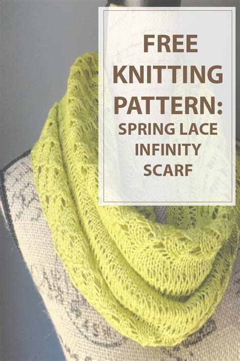 knitting pattern spring scarf knit your ideal accesory for the cold winter days and