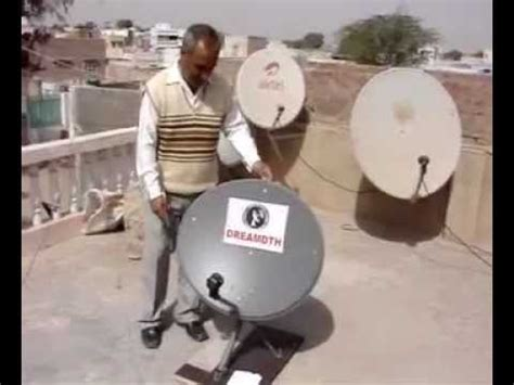 check  dish antenna  mirror youtube