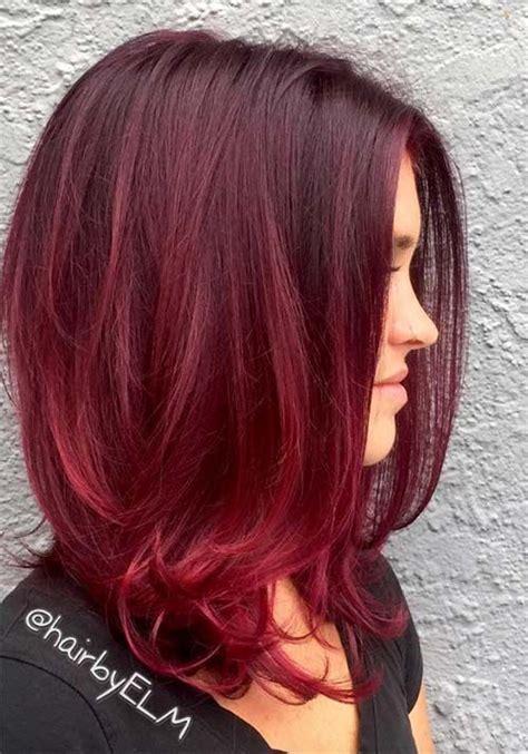 cherry burgundy hair 100 badass red hair colors auburn cherry copper
