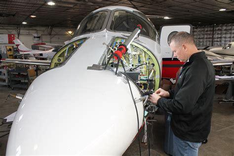 wichita avionics firm sees growth  bizjet work