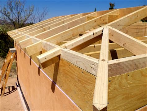 Building Hip Roof alt build building a well house 4 framing the hip roof