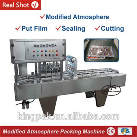 Modified Atmosphere Packaging For Beverages by Bg60a Vegetable Modified Atmosphere Packaging Machine