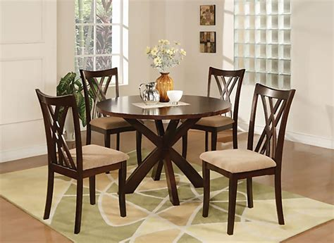 Coaster Dining Room Set ruby casual dining room set casual dinette sets