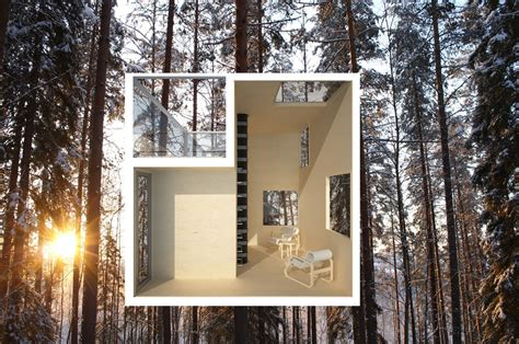 mirrored house an inspiring mirrored treehouse design you ll want to