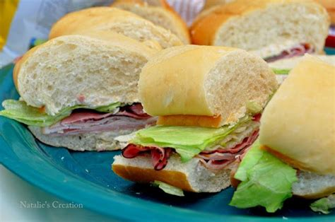 sandwiches for a crowd using french bread and a delicious spread recipes to try pinterest