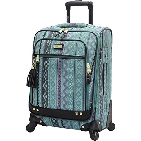 steve madden luggage legends 20 carry on expandable suitcase with spinner wheels luxury sales