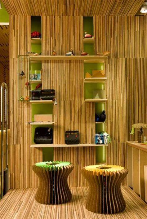 rustic bamboo interior designs  crafts