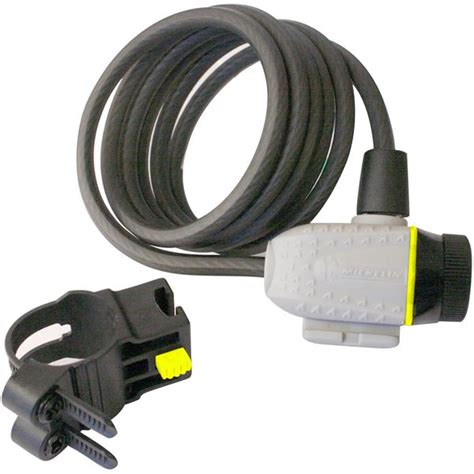 antivol velo feu vert antivol spiral 1800 mm diam 232 tre 8 mm pour 2 roues michelin