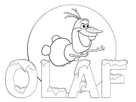 imagenes para colorear olaf dibujos para colorear frozen disney dibujos para colorear