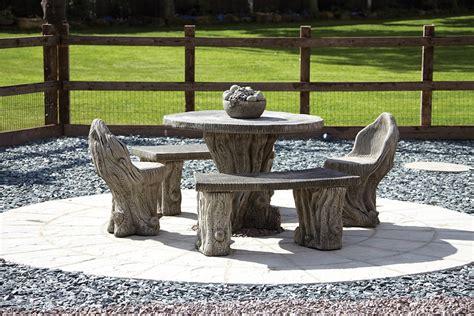 stone garden benches uk garden furniture woodlands stone benches table patio