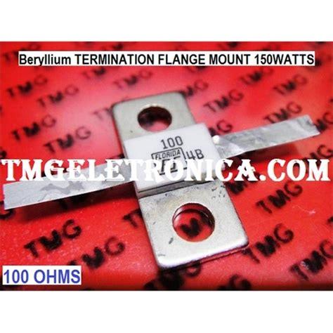 rf resistor 100 ohm resistor de berilio resistor para rf 100r 100 ohms 150watts resist