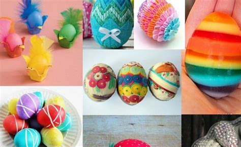 Easter Egg Designs | 60 unique easter egg designs creative dyeing and