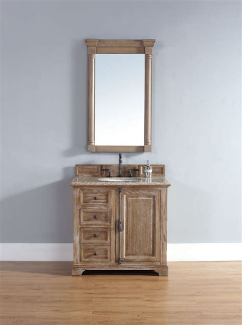driftwood bathroom vanity 36 inch single sink bathroom vanity in driftwood finish
