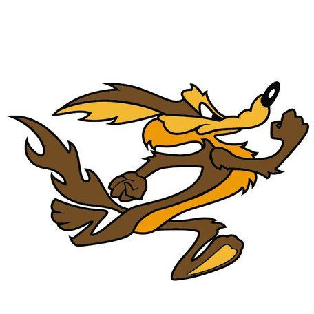 coyote clipart wile e coyote vector image eps vector image clipart me