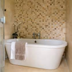 mosaic tiled bathrooms ideas mosaic feature wall bathrooms bathroom ideas image
