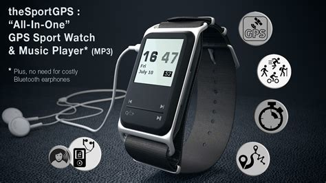 the sport gps sport chronometer gps and mp3