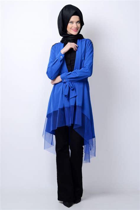Tunik Wulu Merak 2014 tesett 252 r tunik modelleri moda blogu