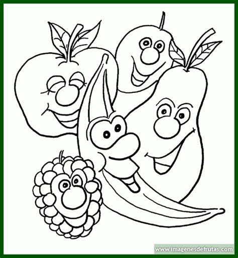 imagenes infantiles para pintar dibujos infantiles de frutas para colorear archivos