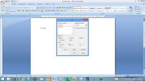 membuat titik rata pada daftar isi cara membuat daftar isi otomatis di word rapi tutorial