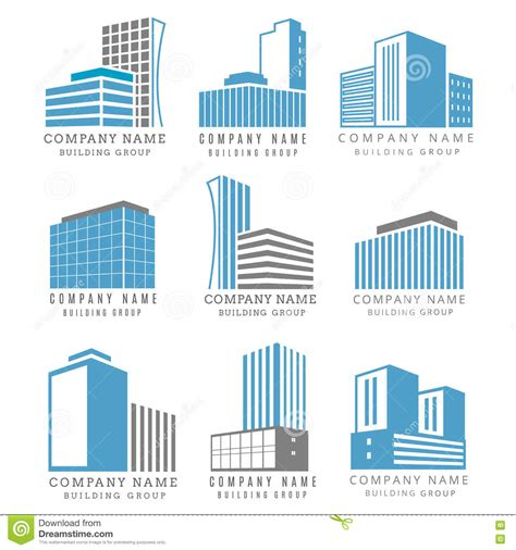 Mba In Real Estate And Construction Management In Canada by Real Estate Construction Business Logo Set With Vector