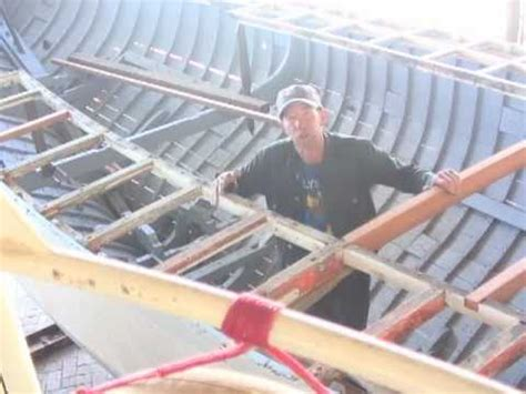 wooden boat repair deck beams youtube - Wooden Boat Repair Videos